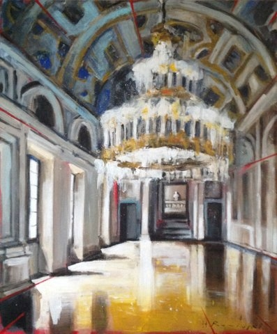 Galerie of the Marbles  by Hanna Ruminski