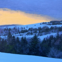 Andy  MacLean  - Cloverville Road at Dusk