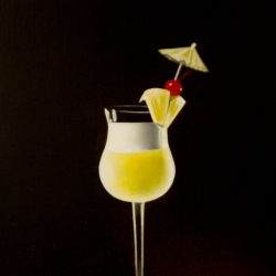Erin Rothstein - Tasting Room - Cocktail with Umbrella