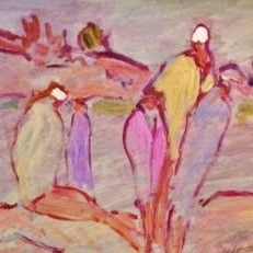 Susan McLean Woodburn - Grouping of Bathers-Pointe au Baril
