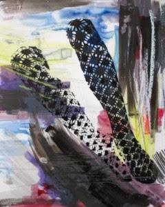 Stockings by Agnieszka Foltyn