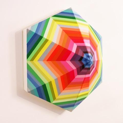 Spectrum (hexagon) by Kristofir  Dean