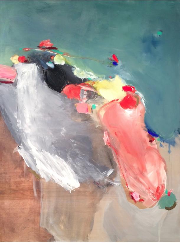 Mango Slip  by Christine Breakell-Lee