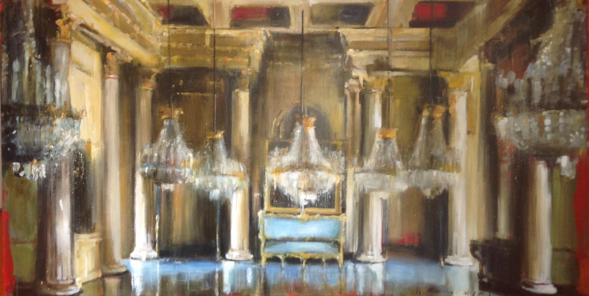 Palazzo Reale Ballroom  by Hanna Ruminski