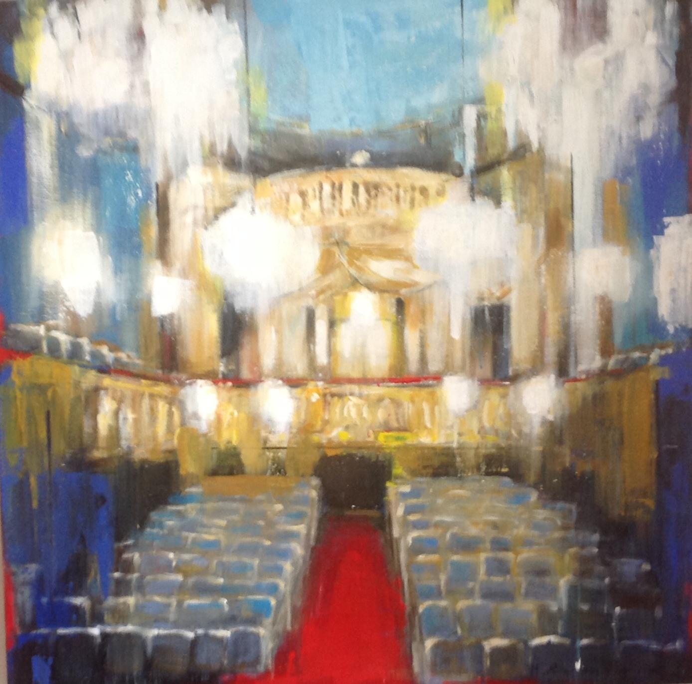 Schonbrunn Palace Theatre  by Hanna Ruminski