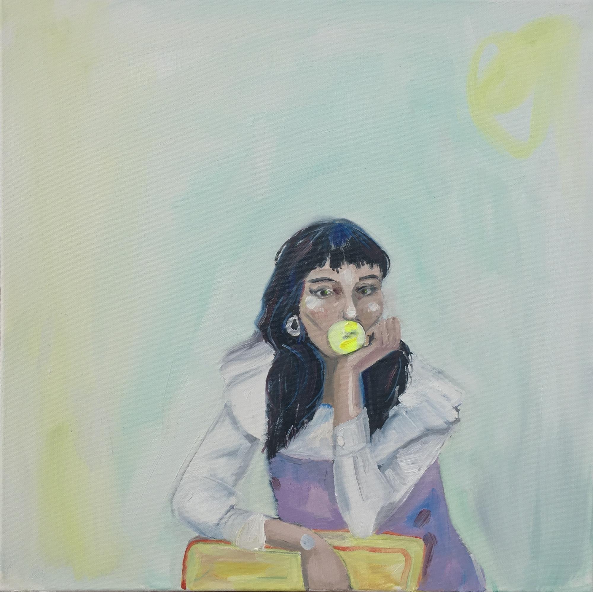 Bubblegum Amber  by Frances  Hahn