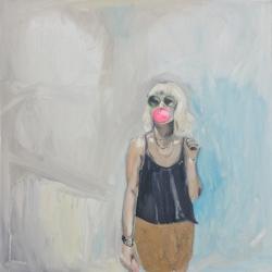Frances  Hahn - Bubblegum Donna