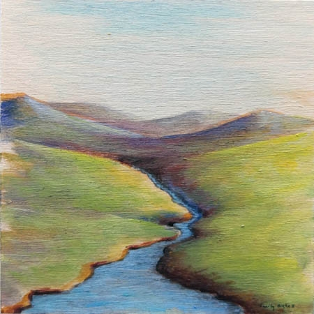 Spring Foothills 2  by Emily Bickell