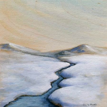 Winter Foothills 2  by Emily Bickell