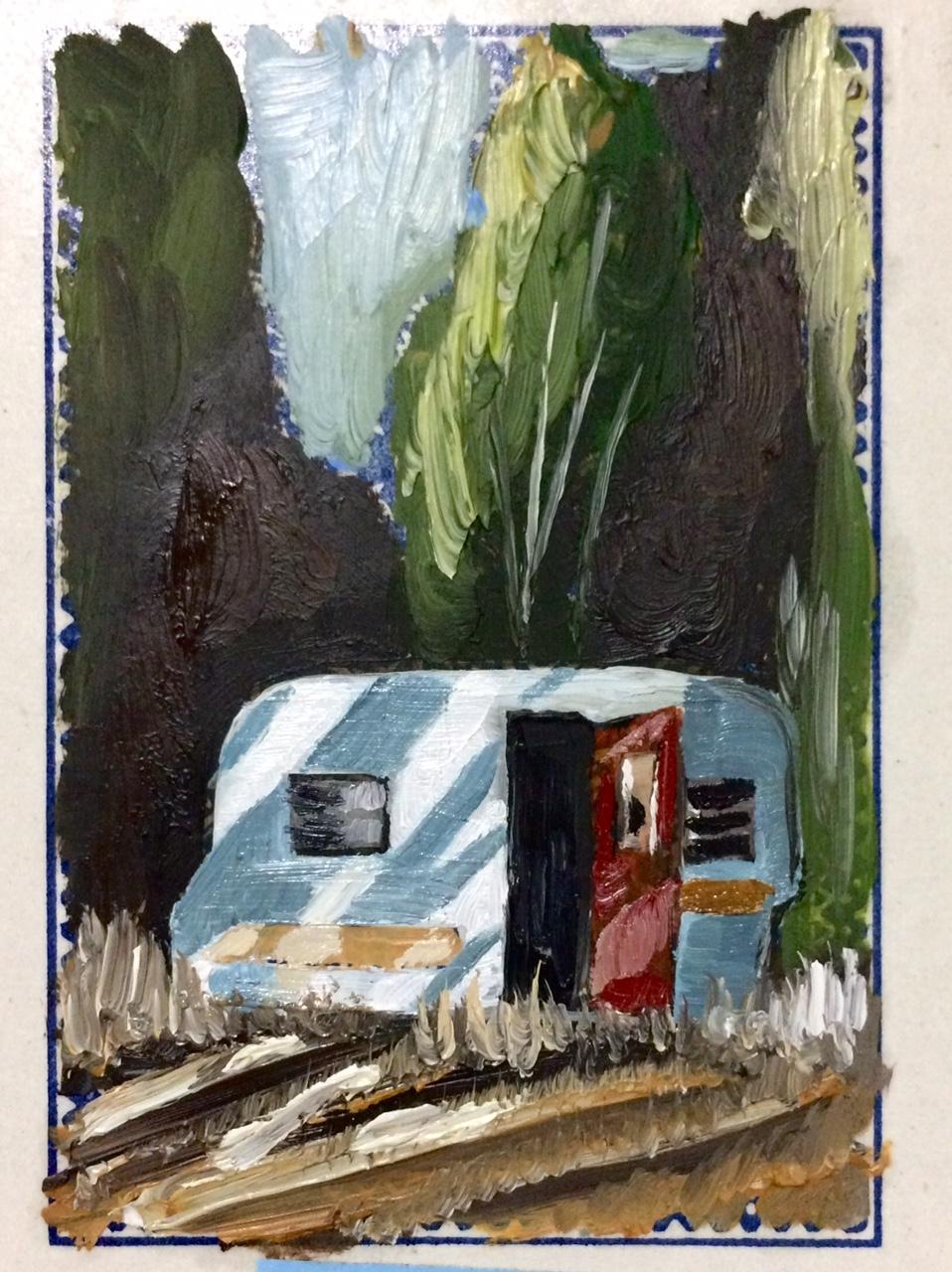 Red Door Trailer  by Emily  Kearsley