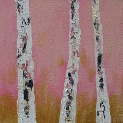 Rita Vindedzis - Pink and Gold