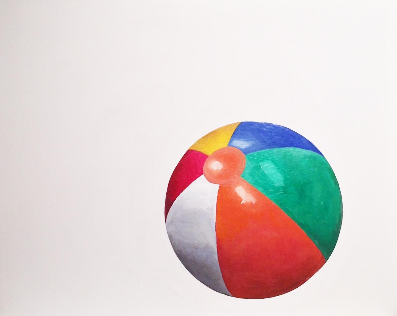 Beach Ball  by EM Vincent