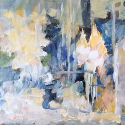 Masood Omer - Blue Landscape