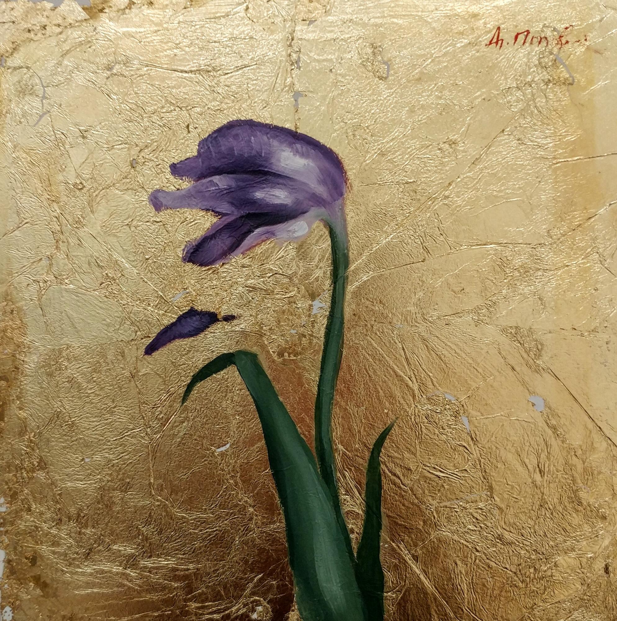 Byzantine Tulip IV by Diliana Popova