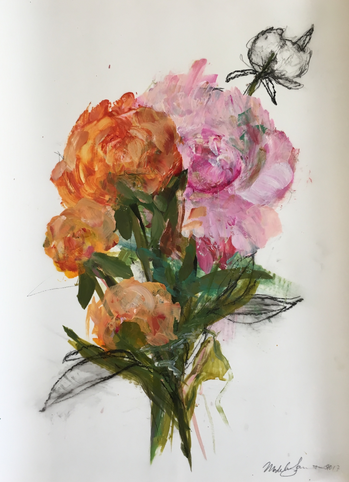 Small Bouquet 2017  by Madeleine Lamont