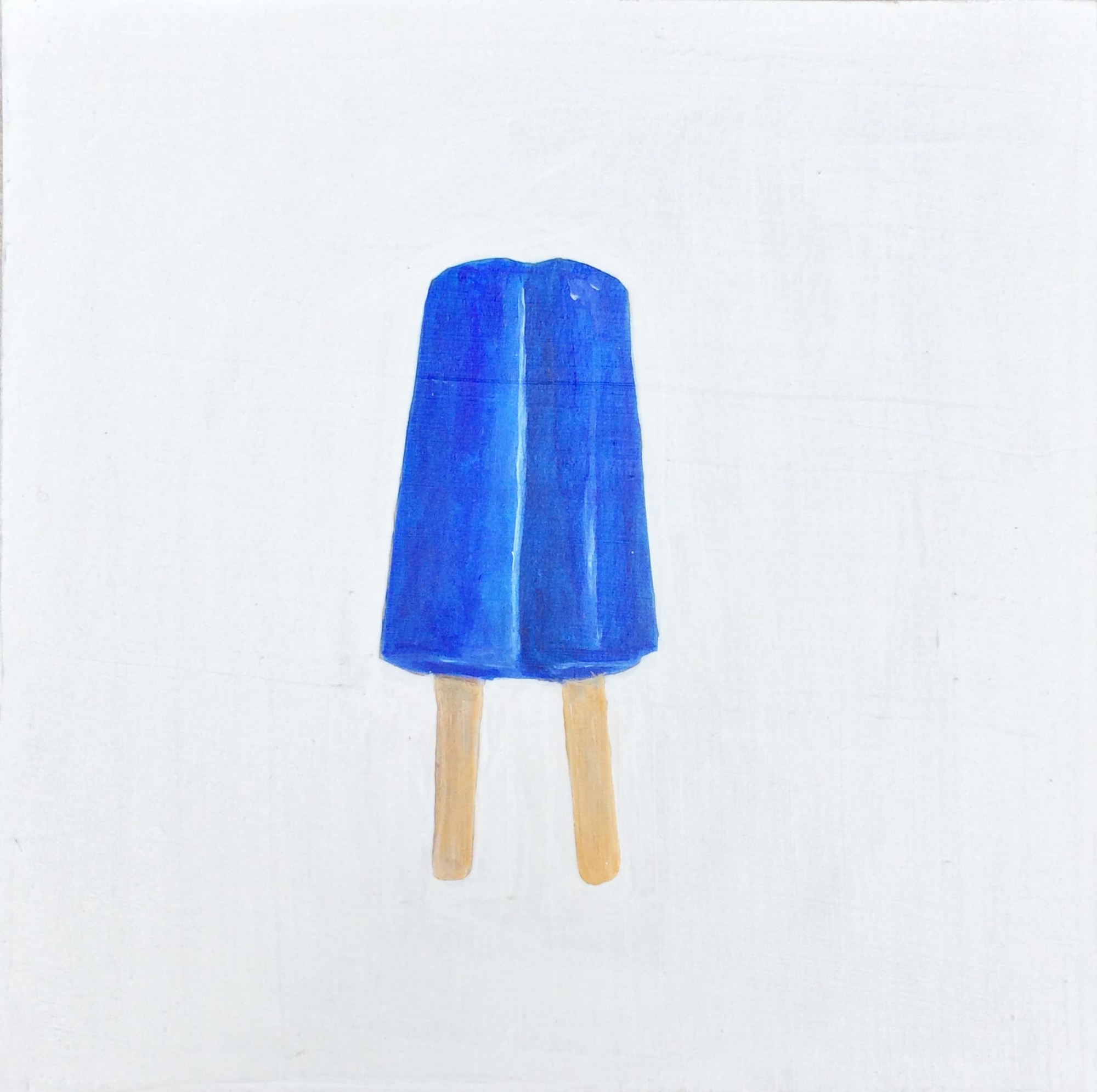 Blue Ice Pop by EM Vincent