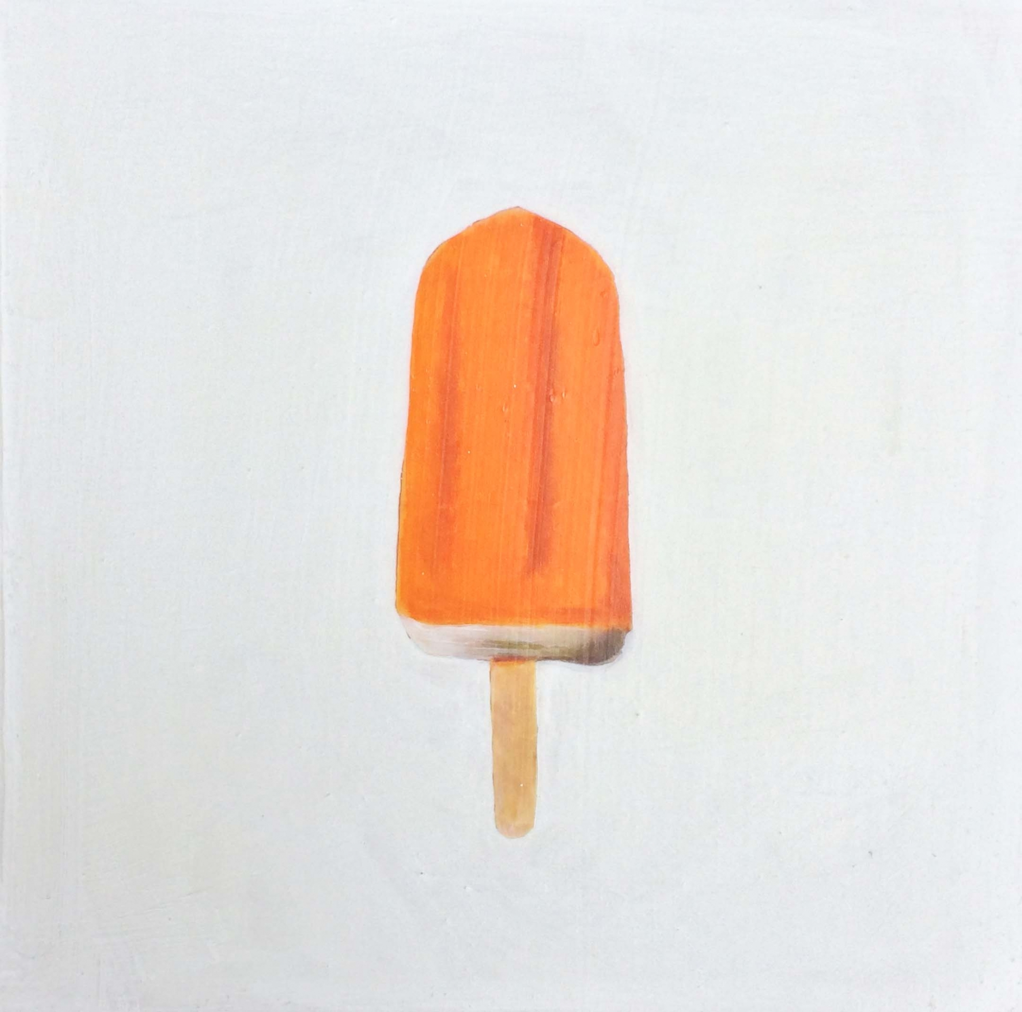 Orange Ice Pop by Erin Vincent