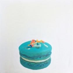EM V - Blue Macaron