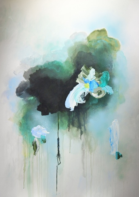 Green Pond by Sylvie  Adams