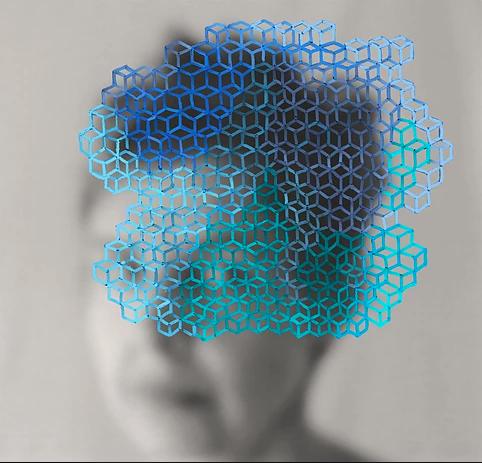 Blue Cloud by Anna Yuschuk