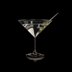Erin Rothstein - Tasting Room - Martini with Olives