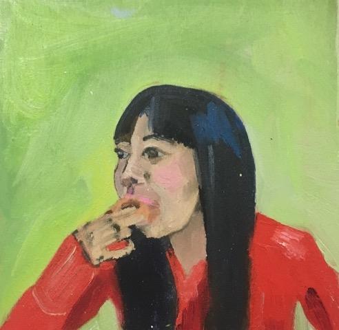 Doughnut Monica  by Frances  Hahn