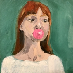 Frances  Hahn - Bubblegum Cheryl
