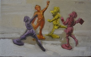 Dancing Girls  by Todd Tremeer