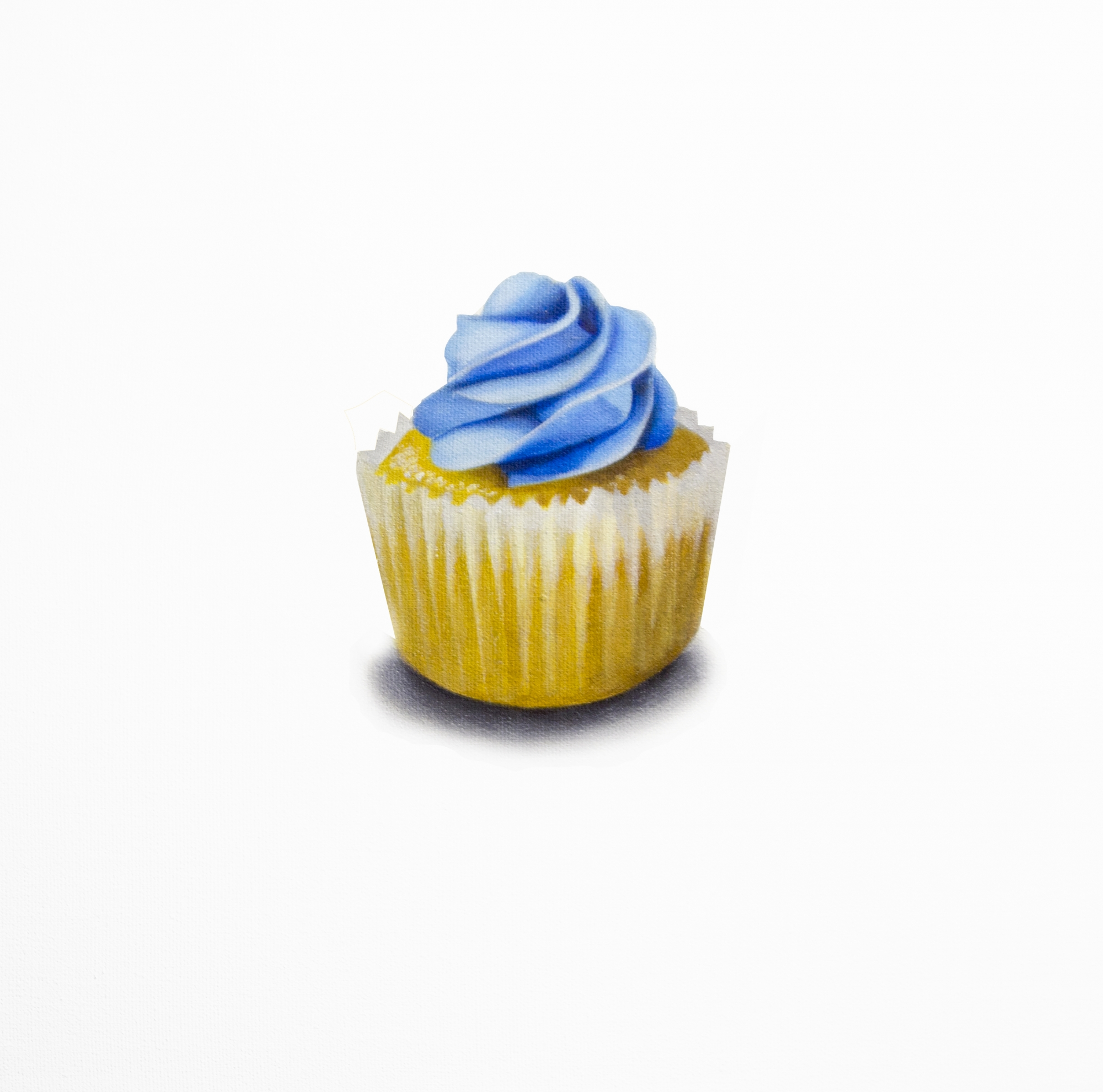 Tasting Room - Blue Cupcake  by Erin Rothstein
