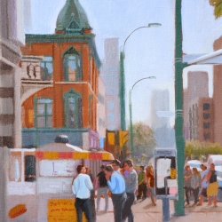 Michael Harris - Lunch Break, Queen and Spadina
