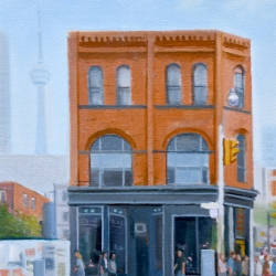 Michael Harris - On The Corner, Queen Street West