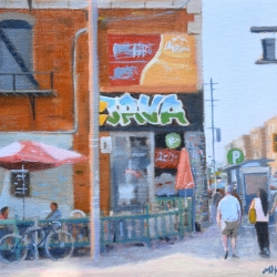 Michael Harris - Java, Queen Street West