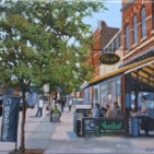 Michael Harris - Summer on Queen Street West