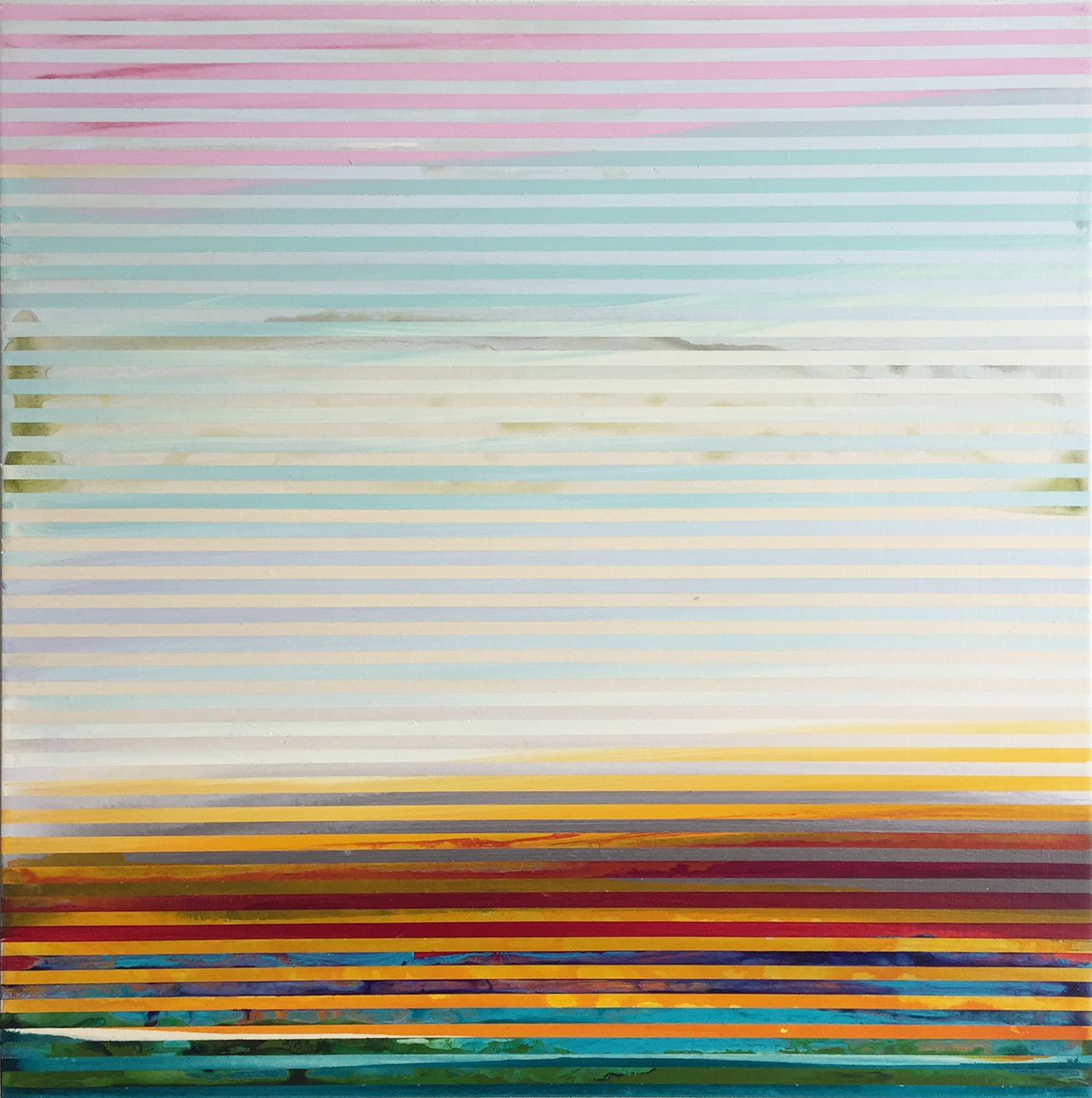 Weaving Landscape (square) 1 by Shawn Skeir
