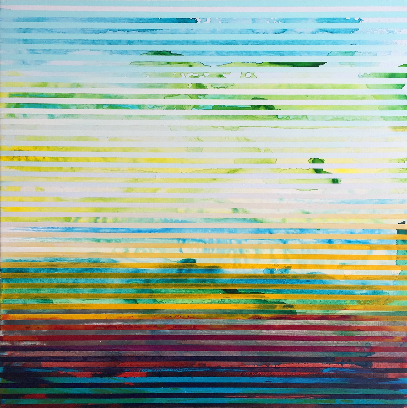 Weaving Landscape (square) 2 by Shawn Skeir