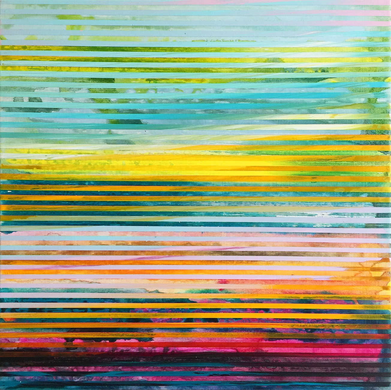 Weaving Landscape (Square) 4 by Shawn Skeir