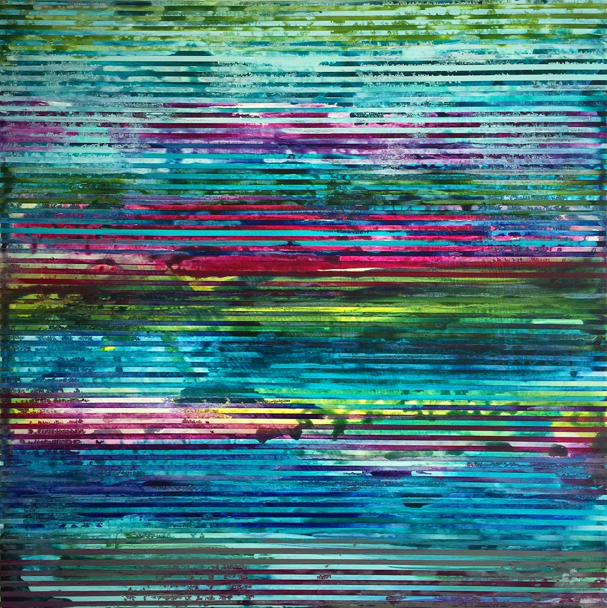 Weaving Landscape (square 2) 2 by Shawn Skeir