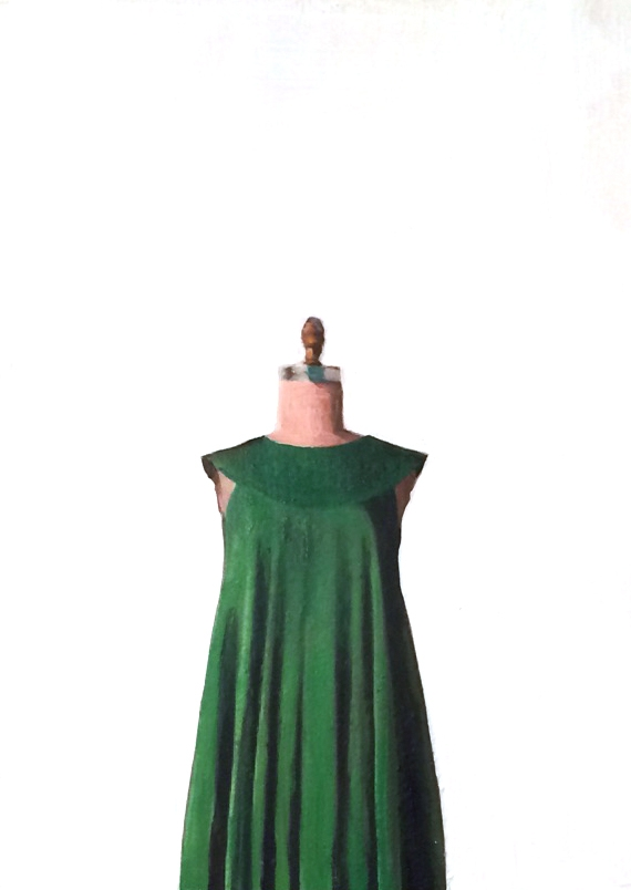 Green Dress by EM Vincent