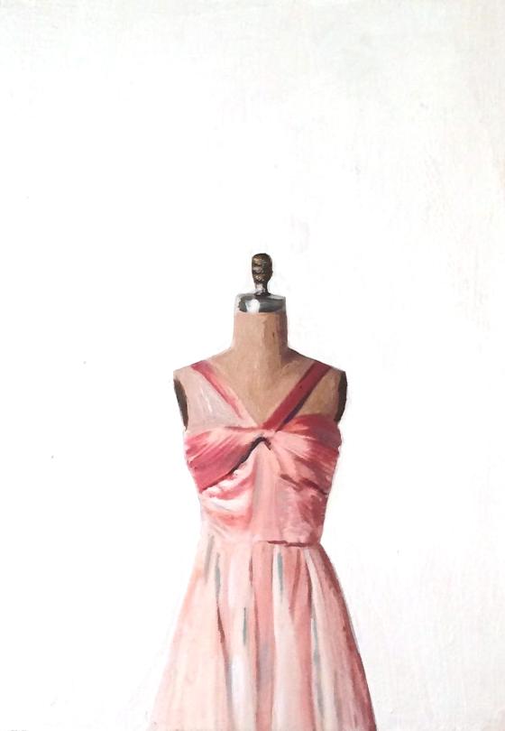 Pink Dress by EM Vincent
