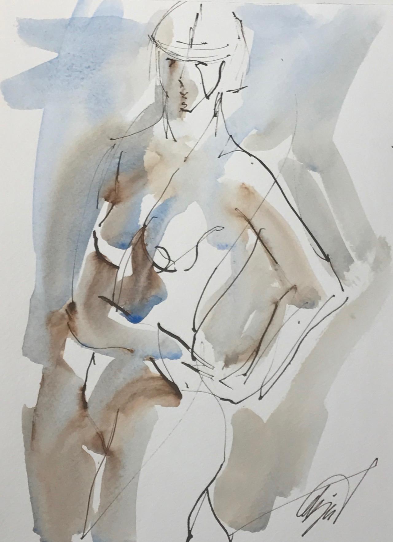 Nude Twist by Mel Delija