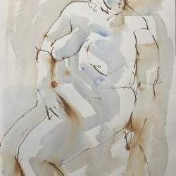 Mel Delija - Large Nude