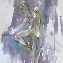 Mel Delija - Dancer with Stretched Arms