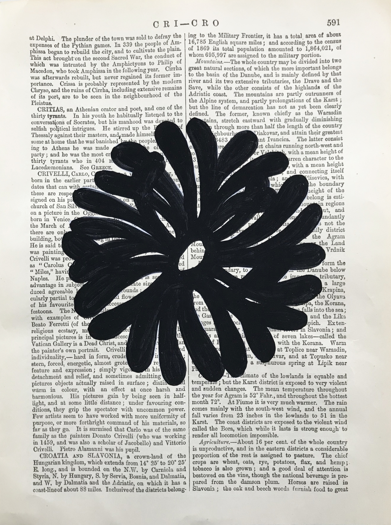 Cri Cor black 591 by Michela Sorrentino
