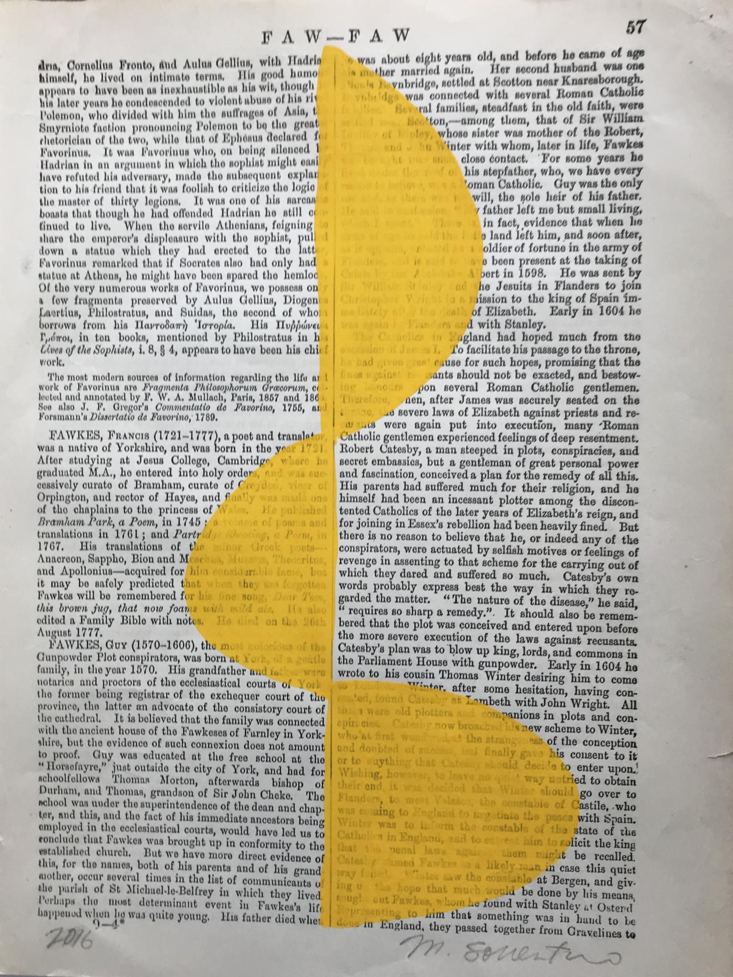 Faw Faw yellow 57 by Michela Sorrentino