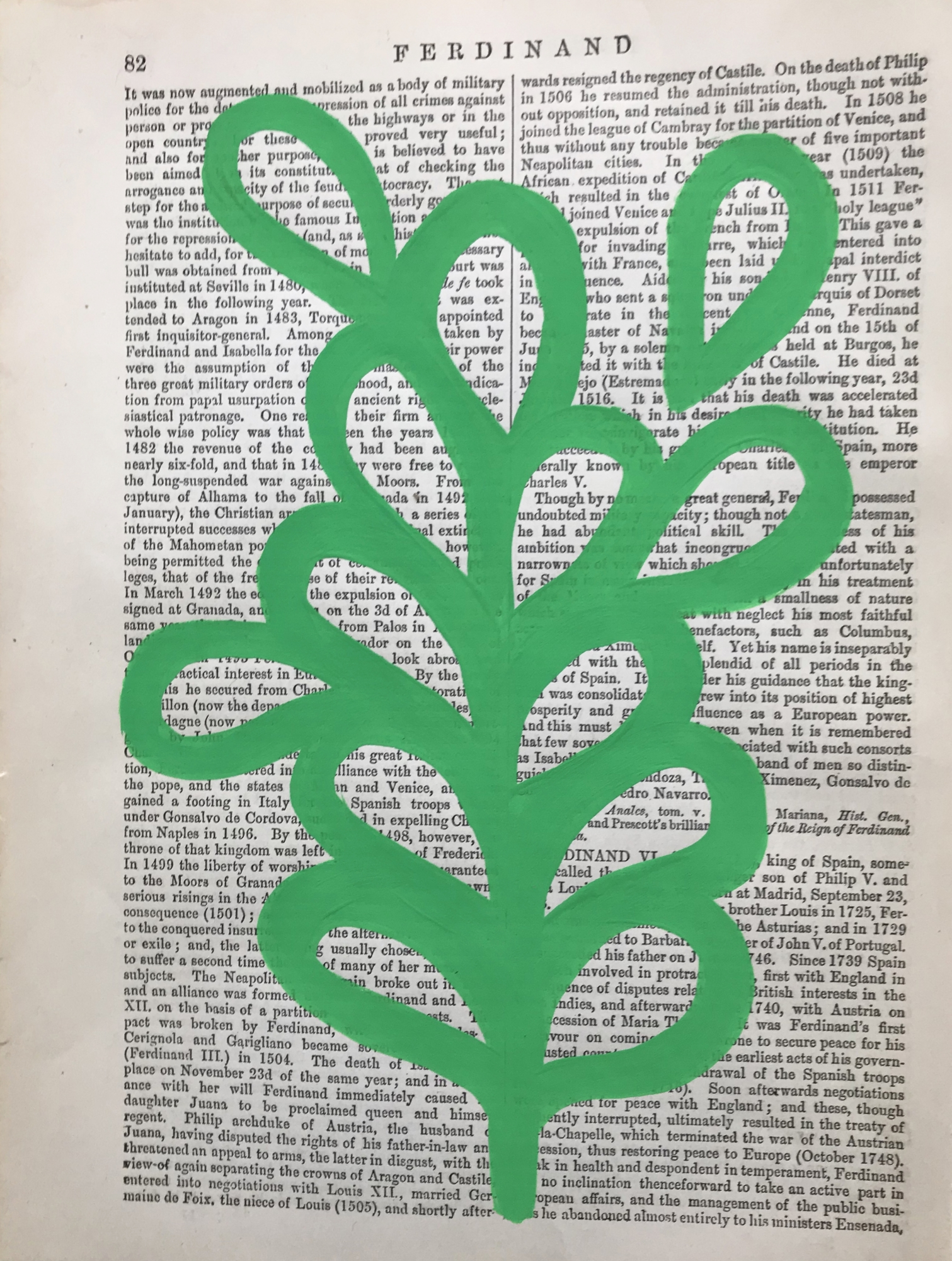 Ferdinand green 82 by Michela Sorrentino