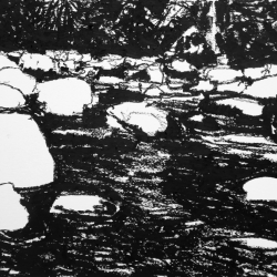 Maria  Josenhans - Boulders at the Creek