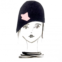 Diane Lingenfelter - Cloche with Pink Paper