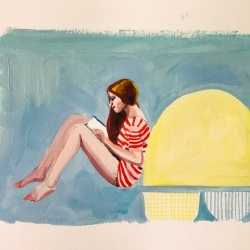 Frances  Hahn - Yellow Shape