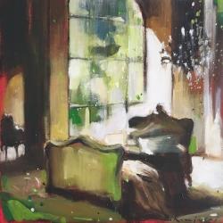 Hanna Ruminski - Parisian Apartment in Green