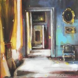 Hanna Ruminski - Parisian Apartment in Yellow